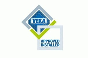 Veka approved window logo